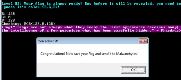 MalwareBytes CrackMe #2 Write-Up